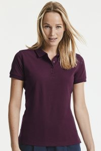 Polo damska Russell Tailored Stretch